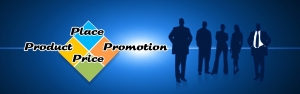 Product, prijs, plaats en promotie.