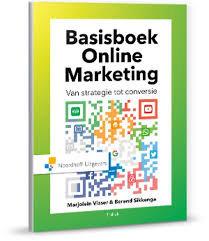 Basisboek Online Marketing van Marjolein Visser.