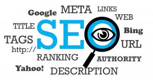 SEO, Google, Bing, Yahoo! ranking, authority, links, tags, title, meta.