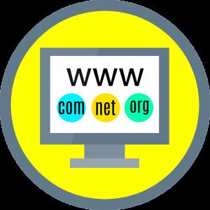 Internet, domein, website
